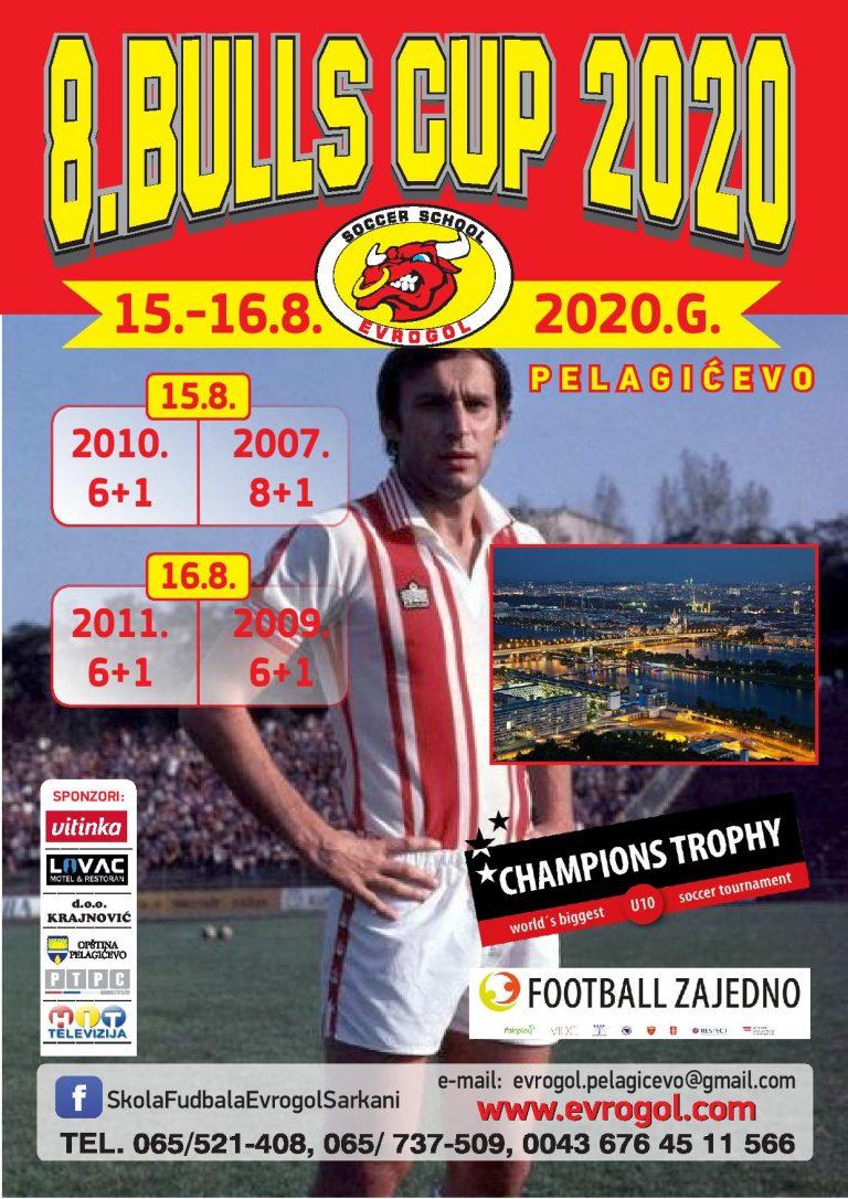 "Read more about the article 8. ""BULLS CUP PELAGIĆEVO 2020"" U AVGUSTU"