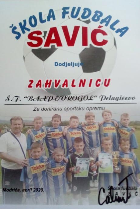 "Read more about the article ZAHVALNICA OD ŠF ""SAVIĆ"""