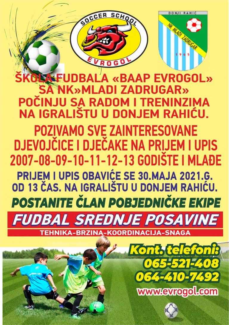 Read more about the article BAAP EVROGOL U DONJEM RAHIĆU