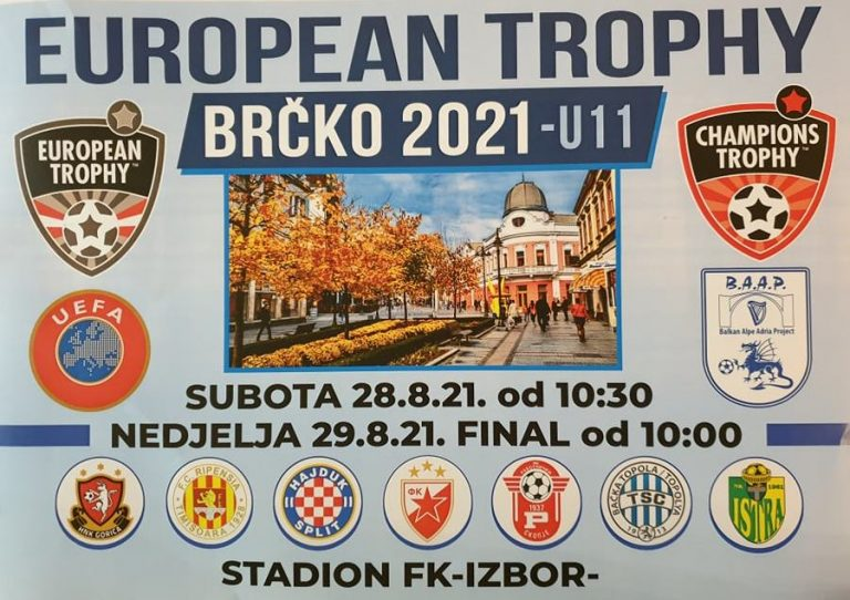 """Read more about the article """"DESETKA"""" NA """"EUROPEAN TROPHY 2021"""""""